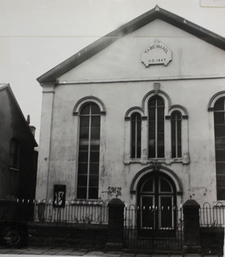 Tabernacle Treorchy photographed in 1979.